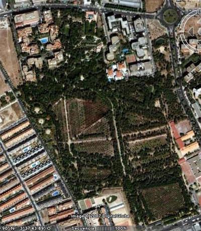 Parque quinta de los molinos for Piso quinta de los molinos